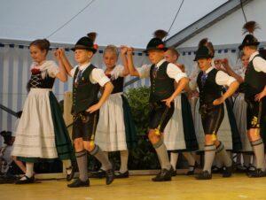 Kinder- und Jugendgruppe, Trachtenverein Alpenrose