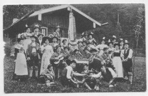 Vereinsgeschichte vom Trachtenverein Alpenrose, Inntal